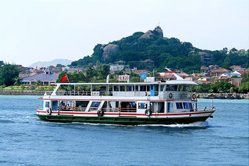 Getting to Kulangsu by ferry from Xiamen