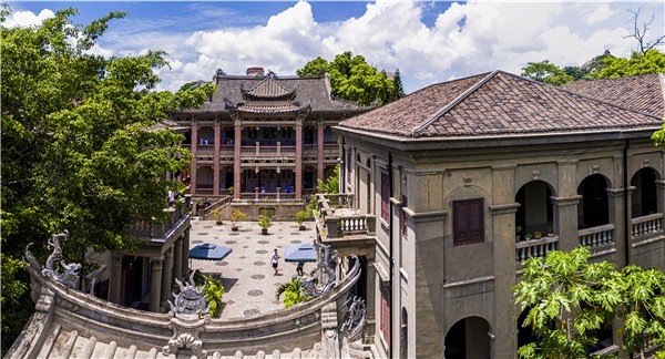 Hai Tian Tang Gou Mansion (海天堂构)