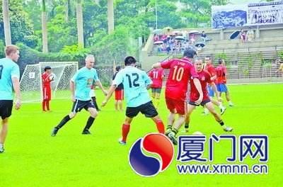 """Xiamen Daily: Xiamen Version of the """"World Cup"""" in Kulangsu Counts Nearly 200 Participants"""